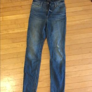 Lucky Brand size 2 high waisted jeans